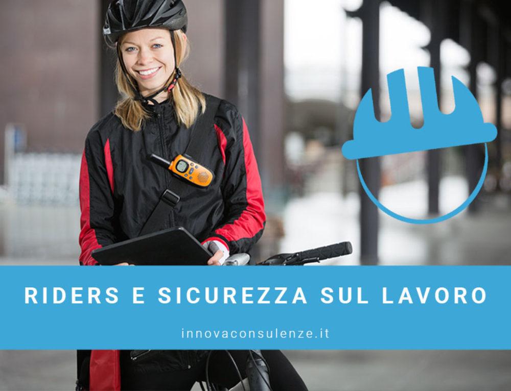 Riders e Sicurezza sul Lavoro